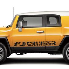 Toyota FJ Cruiser TRD sport side stripe graphics decal Wild Style