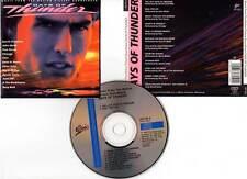 DAYS OF THUNDER - Cruise,Kidman,Scott (CD BOF/OST) Coverdale,Turner,Cher 1990