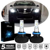 For Holden VE Commodore High Beam SS SSV HSV H11/H9 LED Bulbs Upgrade Kit White