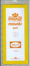 Package of 5 Prinz CLEAR Mounts 265 x 72