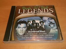 ROCK 'N' ROLL LEGENDS - HEARTBREAK HOTEL - CD ALBUM - UK FREEPOST