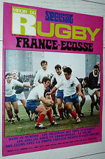 MIROIR RUGBY N°89 1969 V NATIONS FRANCE-ECOSSE IRLANDE AGEN-TOULON BEZIERS MAROT