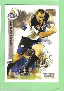 2003  RUGBY UNION CARD #43  STIRLING MORTLOCK, ACT BRUMBIES