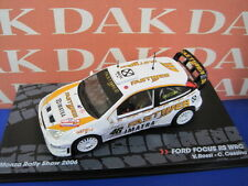 Die cast 1/43 Ford Focus RS WRC Rally Monza 2006 V.Rossi by Ixo