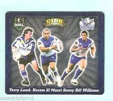 2008  CANTERBURY  BULLDOGS  RUGBY LEAGUE  TAZO  #58  CLUB LEGENDS