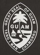 """Great Seal of Guam Vinyl Decal Weatherproof Sticker 6"""""""