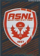 N°511 LOGO BADGE SCUDETTO # AS.NANCY STICKER FOOT 2014 PANINI