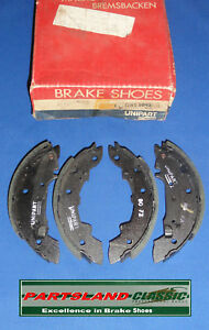 Rear Brake Shoes 104 Peugeot Renault 12 14 15 18 20 & Fuegeo 1970 - 86