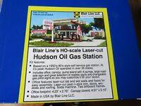 Blair Line HO Scale Hudson Oil Gas Station Kit #2002 Bob The Train Guy