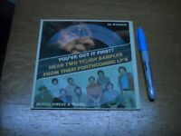 FLEXI DISC, BLOOD SWEAT & TEARS.  SAMPLES OF LP'S.  AL KOOPER.