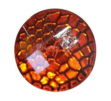 Noosa Style Chunks Snap Button Charms Chunk Charm Snaps Reptile Skin Red 18mm