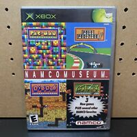 NAMCO MUSEUM XBOX COMPLETE IN BOX W/ MANUAL CIB - Tested