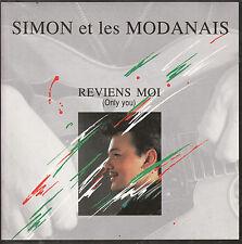 """7"""" 45 TOURS FRANCE SIMON ET LES MODANAIS """"Reviens-Moi / Devant La Cheminée"""" 1989"""