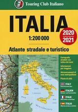 ITALIA ATLANTE STRADALE E TURISTICO TCI 2020/2021 EDIZIONE MULTILINGUE  - AA.VV