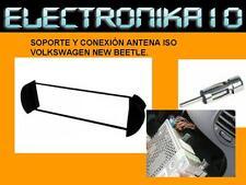 Marco montaje auto-radio volkswagen New Beetle + Adaptador antena  soporte