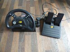 PlayStation Mad Catz volante con engranajes & Pedales Madcatz