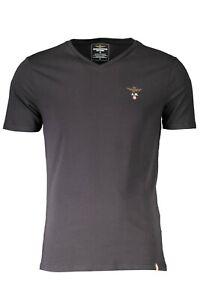 Aeronautica Militare T-shirt Herren Schwarz Blau und Grün