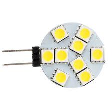 10 pcs G4 DC 12V 9 5050 SMD LED Spot Light Bulb Warm White for RV Boat V2R8