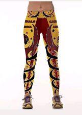 Arizona Cardinals Leggings L/XL football spandex Athletic Yoga Stretchy