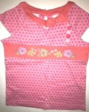 Gymboree Tea Garden 4 4T Girls Top Shirt Sequin Flowers NWT NEW Free Shipping