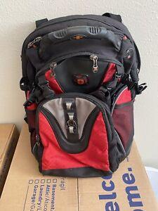 Swiss Gear - Maxxum Computer Backpack Black/Red