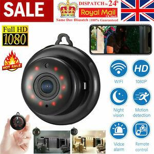 1080P Full HD Wireless WiFi Indoor/Outdoor MINI IP Camera CAM Home Security IR