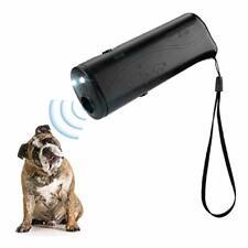 New listing Led Ultrasonic Dog Repeller, 3 in 1 Ultrasonic Pet Repeller Anti Bark Stop Bark