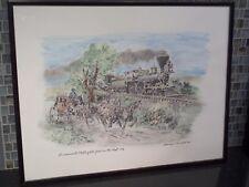Sacramento Valley Railroad 1856 Steam Locomotive Wells Fargo George Mathis Print