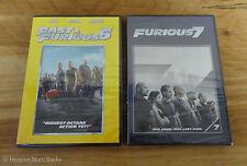 2 NEW/SEALED DVDs ~ Fast & Furious 6 7 ~Vin Diesel, Paul Walker & Dwayne Johnson