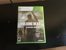 The Walking Dead: Survival Instinct (Microsoft Xbox 360, 2013)