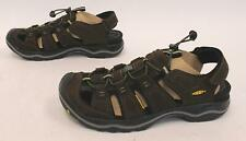 Keen Men's Leather Rialto Water Shoes AB3 Bison/Black 1014875 Size US:11
