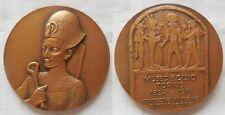 n.45 medaglia 150° anniv. museo Egizio a Torino 1974 Egitto 60mm fdc