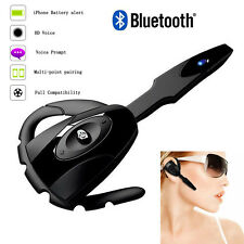 Wirless Bluetooth Earphone Ear Hook Headset with Micphone For Android iOs Nokia