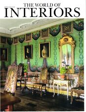 THE WORLD OF INTERIORS March 2020 DAMSGARD MANORTory Burch ORFEBRE SECO @New@