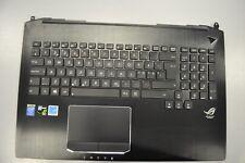 Asus G750JM Palmrest w Touchpad & Keyboard 13nb04j1am0201