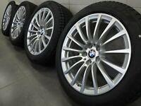 18 Zoll Winterräder original BMW 5er G30 G31 6861224 Felgen 619 Alufelgen