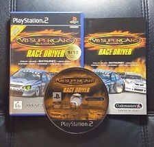 V8 Supercars Australia Race Driver (Sony PlayStation 2, 2002) PS2 Game