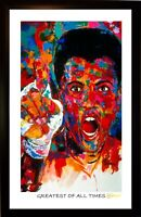 MUHAMMAD ALI ART PRINT SIGNED BY ARTIST TO STARS, WINFORD