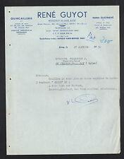"""GRAY (70) QUINCAILLERIE / Agence PRIMAGAZ """"René GUYOT"""" en 1950"""
