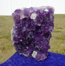 Amethyst FLOWER Uruguay DEEP Purple Quartz Crystal Points Dogtooth Calcite