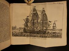 1752 1st Naval Architecture Ships Fishing Marine Life Shell Fossils Navigation