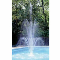 New! Grecian 3-Tier Floating Aboveground Or Inground Swimming Pool Fountain