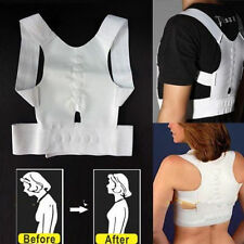 BACK BRACE MAGNETIC THERAPY SUPPORT POSTURE CORRECTOR SHOULDER SUPPORT HUMPBACK