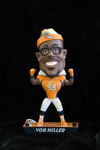 Caricature Von Miller Denver Broncos Football Bobble head Bobblehead NEW