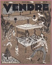 ▬►MARKETING PUBLICITÉ  -- VENDRE N° 293 (JUILLET 1954) --  COVER M.LEGAND
