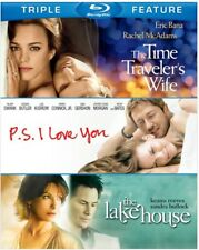 The Time Traveler's Wife / P.S. I Love You / The Lake House [New Blu-ray] 3 Pa