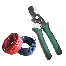 """8"""" Cable Wire Jacket Stripper Cable Cutter Stripping Scissors Pliers Tool"""