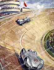 Avus Mercedes-Benz W 125 Power Line Silver Arrow Berlin Hermann Lang Delius 1937