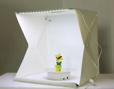 "16"" Light Room Photo Studio Photography Lighting Tent Box Kit Backdrop Cube"