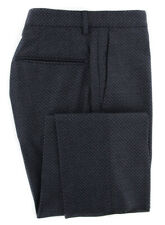 Nuovo Incotex Midnight Blu Navy Decorato Pantaloni - Slim - 34/50 - (IN1117171)
